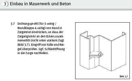 dichtungen bei brandschutzt ren bauforum auf. Black Bedroom Furniture Sets. Home Design Ideas