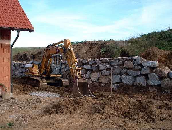 Zaun Auf Steinschlichtung Befestigen Forum Auf Energiesparhaus At