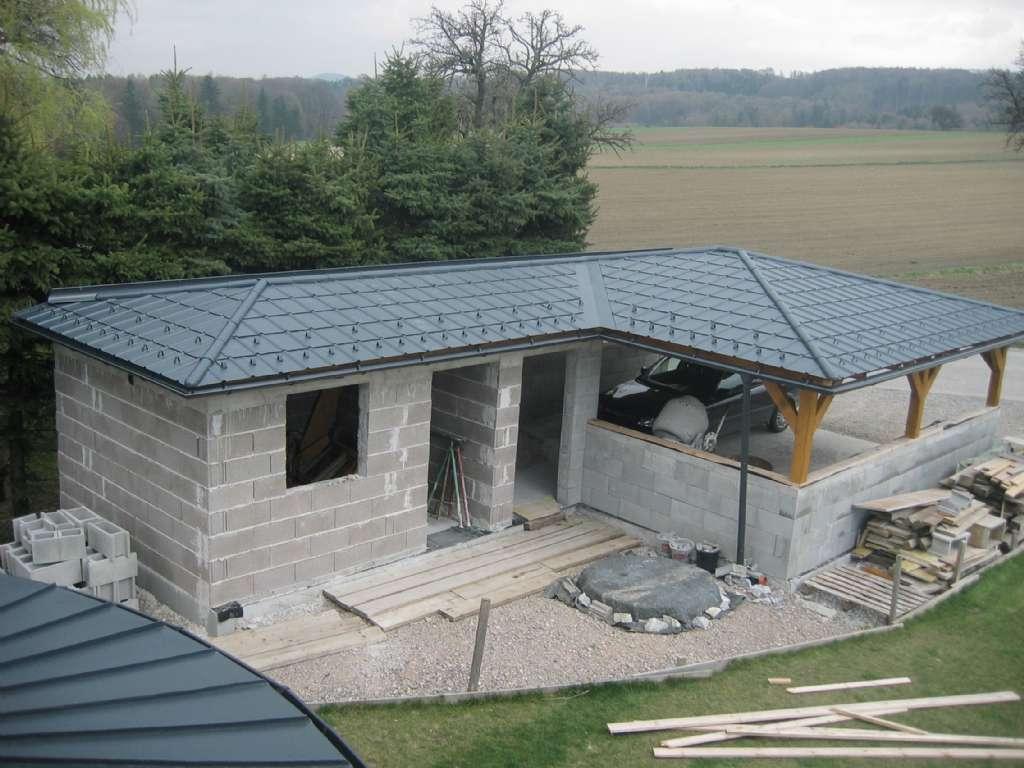 Garage mit carport und abstellraum  Fotos von Carports und Garagen | Forum auf energiesparhaus.at