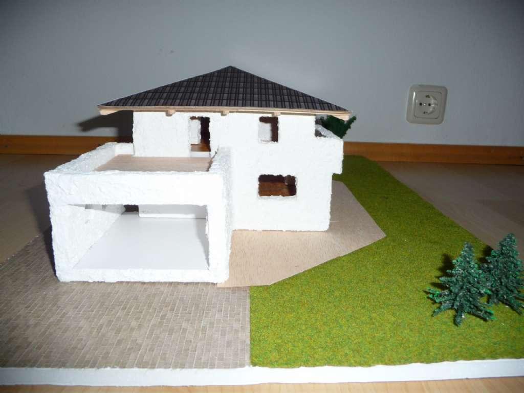 Modell des eigenen hauses basteln bauforum auf for Modellhaus bauen