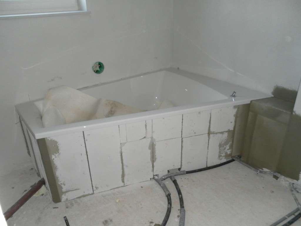 badewanne einbauen ytong abdeckung ablauf dusche. Black Bedroom Furniture Sets. Home Design Ideas