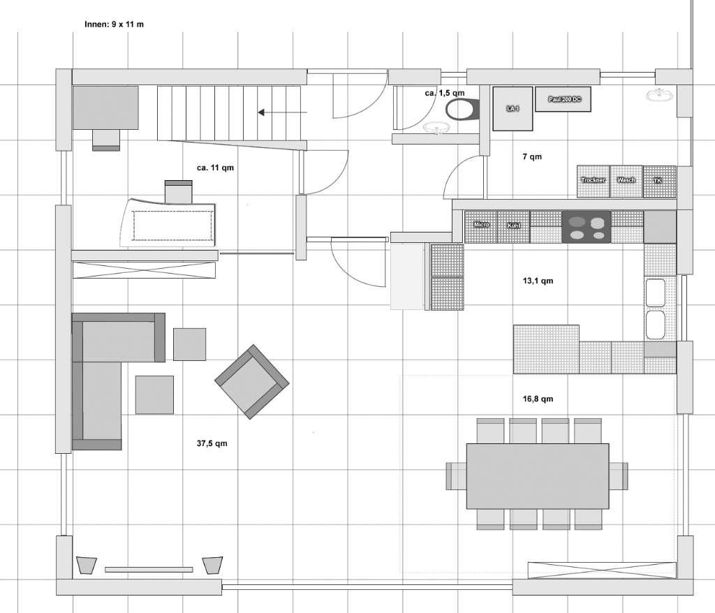 grundri konstruktive kritik erbeten bauforum auf. Black Bedroom Furniture Sets. Home Design Ideas