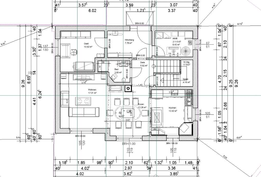 Passivhaus grundriss  Grundriss PassivHaus 164m² | Bauforum auf energiesparhaus.at