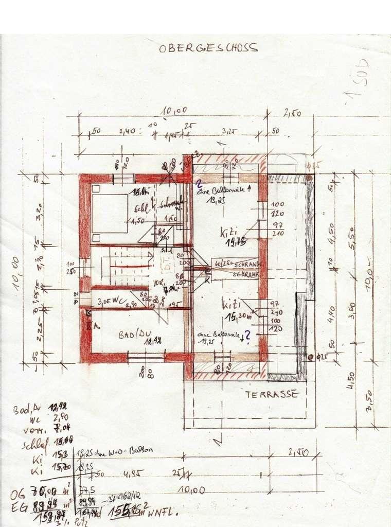 Grundriss Zeichnen Balkon : BITTE um Eure Meinung zum Grundriss  Grundrissforum auf