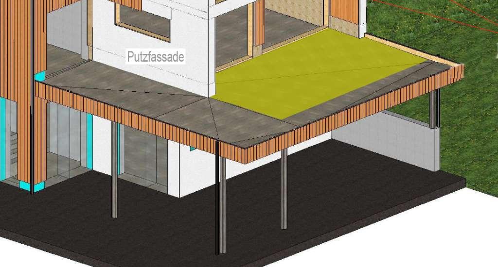gef lle estrich auf gro er terrasse bauforum auf. Black Bedroom Furniture Sets. Home Design Ideas