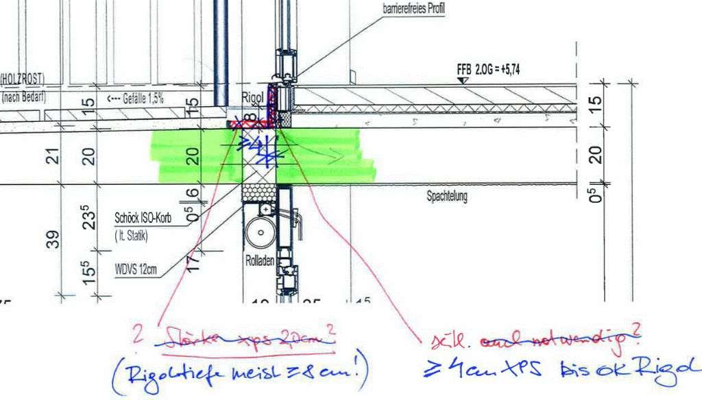 Warmebrucke Balkon Bauforum Auf Energiesparhaus At