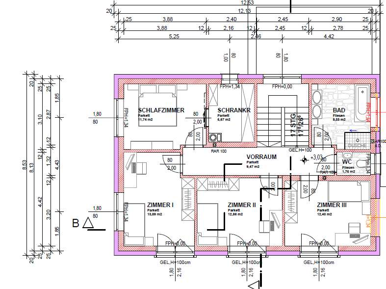 Og mit 4 schlafzimmern grundrissforum auf for Grundrissplan einfamilienhaus