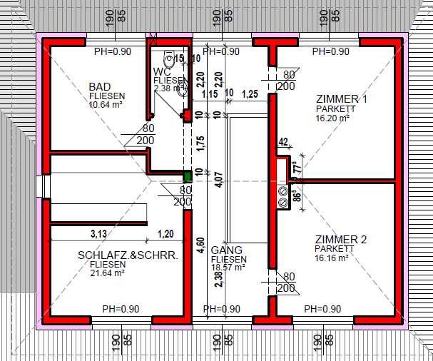 unterzug wohnzimmer:Meinungen zu Plan