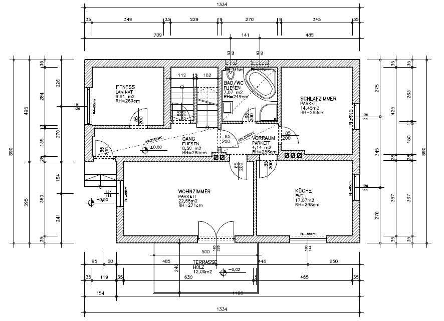 tragende wand erkennen wie erkenne ich eine tragende wand heimwerken architektur tragende wand. Black Bedroom Furniture Sets. Home Design Ideas