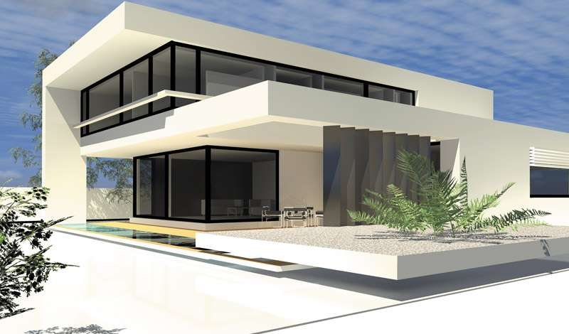 Terrassen berachung solll wie verl ngeru bauforum auf for Moderne bauweise