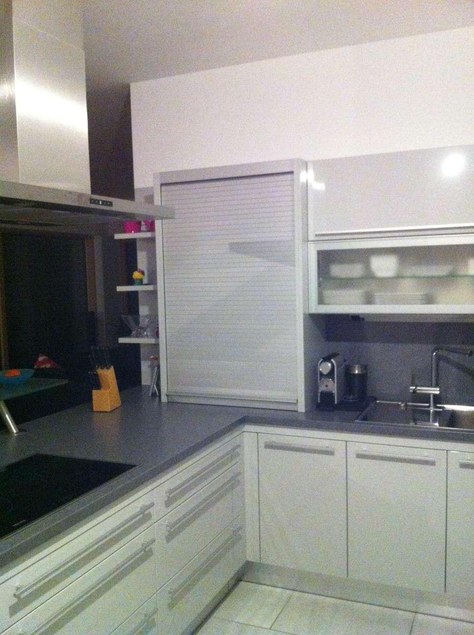 Rollschrank Küche