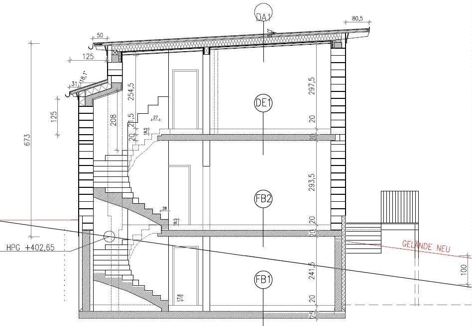 Zweil Ufige Treppe gewendelte treppe schnitt cad detail viertelgewendelt kenngott treppen heinze