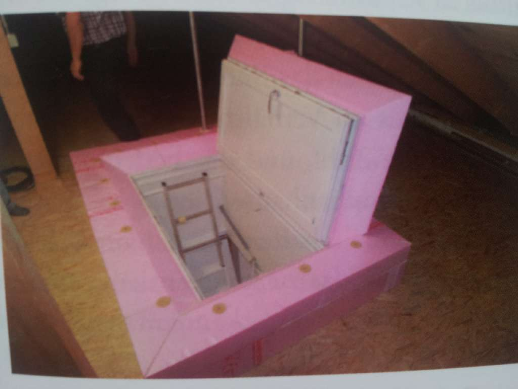 Dachbodentreppe Dammen Bauforum Auf Energiesparhaus At