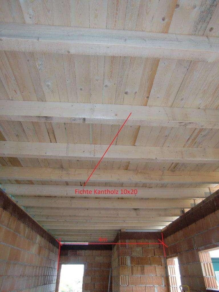 Carport Holz Dimensionierung ~ punktfundamente carport  Bauforum auf energiesparhaus at