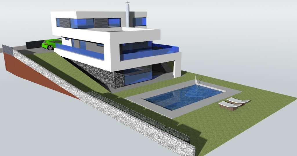 haus hanglage grundriss elegant elegant haus bauen. Black Bedroom Furniture Sets. Home Design Ideas