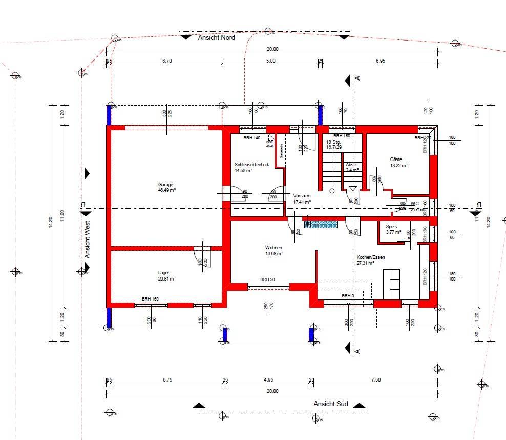 Grundrisse richtig zeichnen verschiedene for Raumgestaltung zeichnen