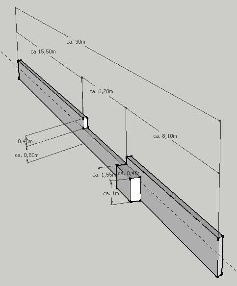 angebot ber gartenmauer bauforum auf. Black Bedroom Furniture Sets. Home Design Ideas