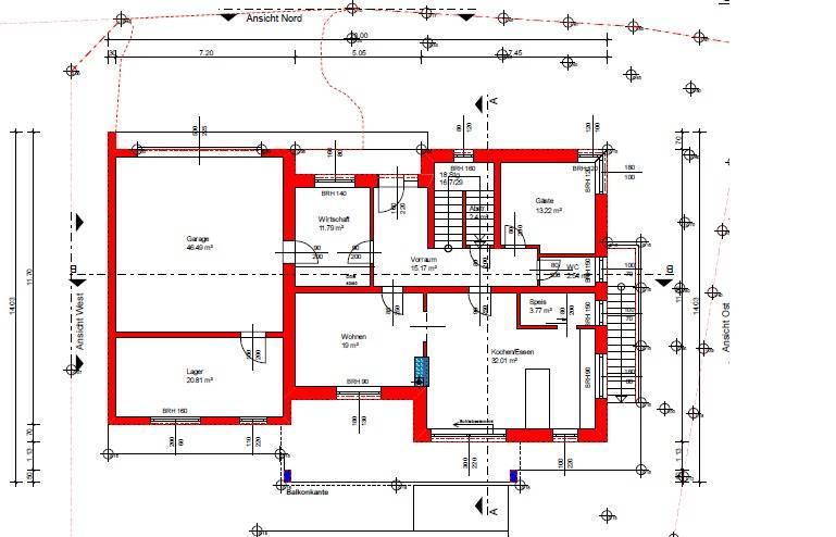 erstentwurf unseres hauses grundrissforum auf. Black Bedroom Furniture Sets. Home Design Ideas