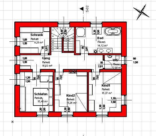 Grundriss einfamilienhaus grundrissforum auf for Hausplan einfamilienhaus