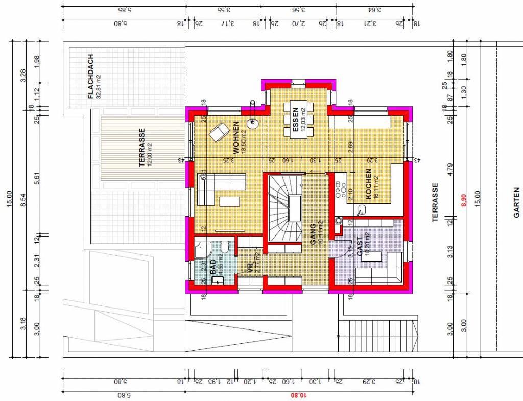 Haus Hanglage - Pläne optimiert? Grundrissforum auf ... size: 1024 x 785 post ID: 6 File size: 0 B