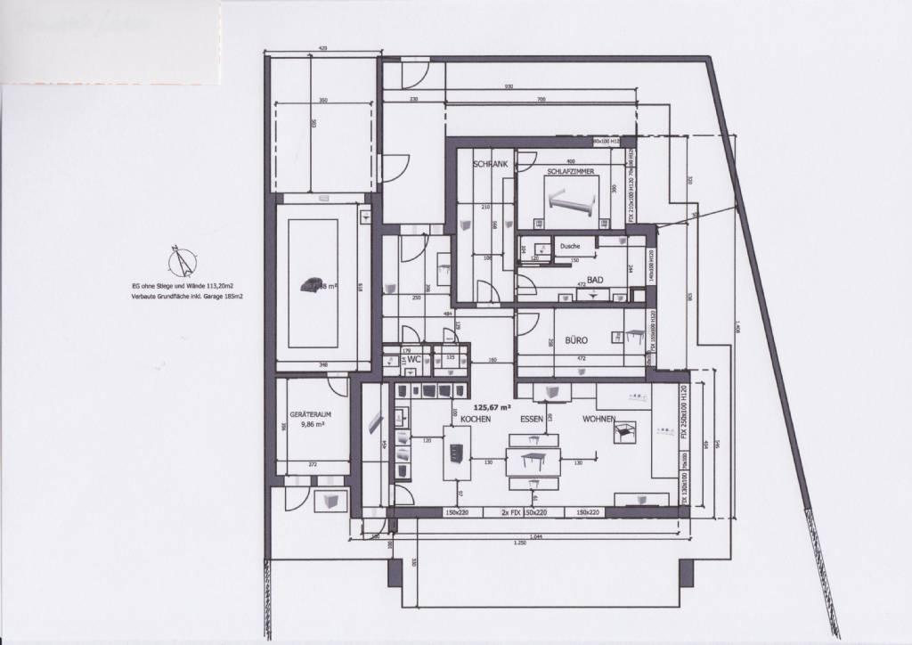 grundriss ebenerdig grundrissforum auf. Black Bedroom Furniture Sets. Home Design Ideas