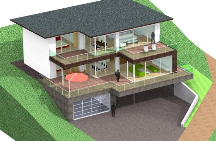 flachdachaufbau unterschied zu pultdac bauforum auf. Black Bedroom Furniture Sets. Home Design Ideas