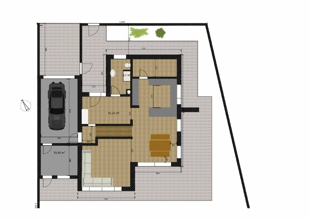 Schrank Von Wand Gefallen Versicherung : Grundriss  Grundrissforum auf energiesparhausat