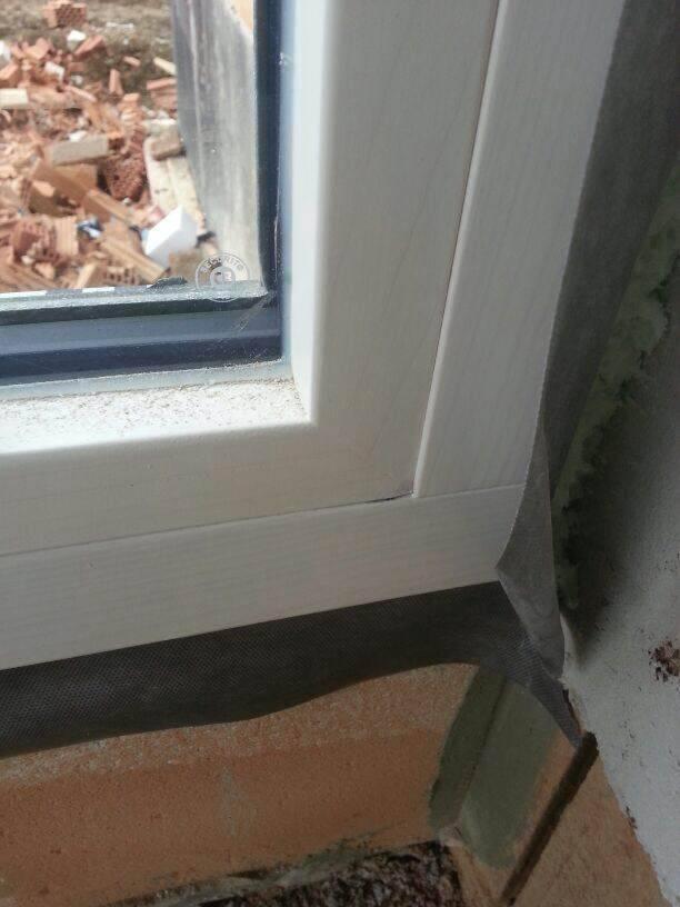 beschädigte Fenster bei Montage | Fensterforum auf energiesparhaus.at