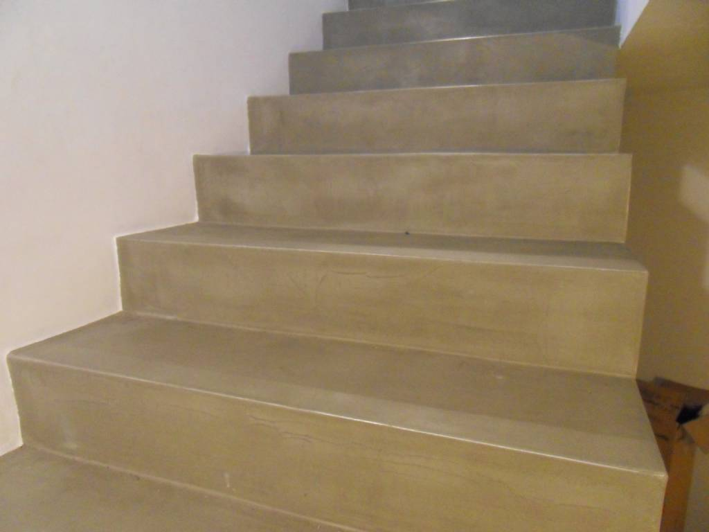 treppe in beton cir fotodoku forum auf. Black Bedroom Furniture Sets. Home Design Ideas
