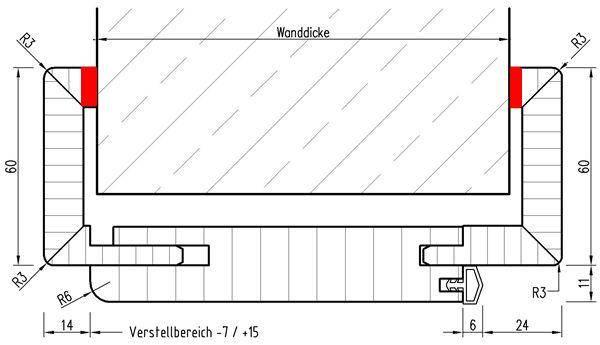 Türzarge detail  KWL & Lüftungsschlitze | Energieforum auf energiesparhaus.at