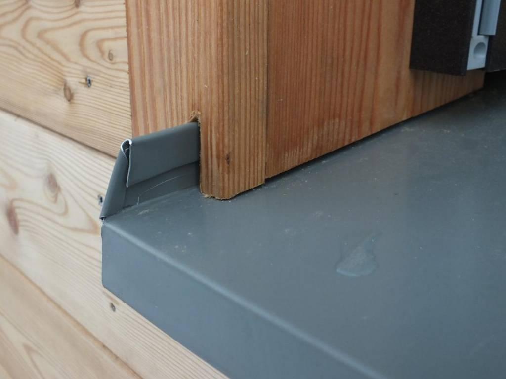 anschluss fensterbank an holzfassade bauforum auf. Black Bedroom Furniture Sets. Home Design Ideas