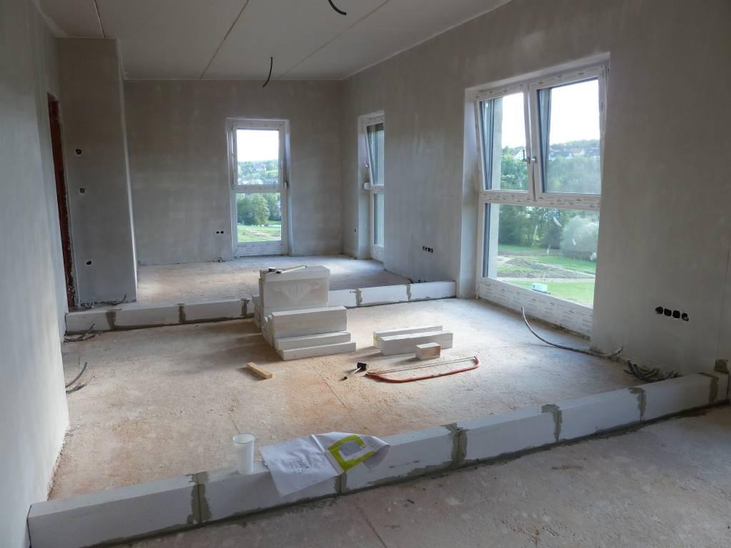 boden durchgehend rigips wand drauf bauforum auf. Black Bedroom Furniture Sets. Home Design Ideas