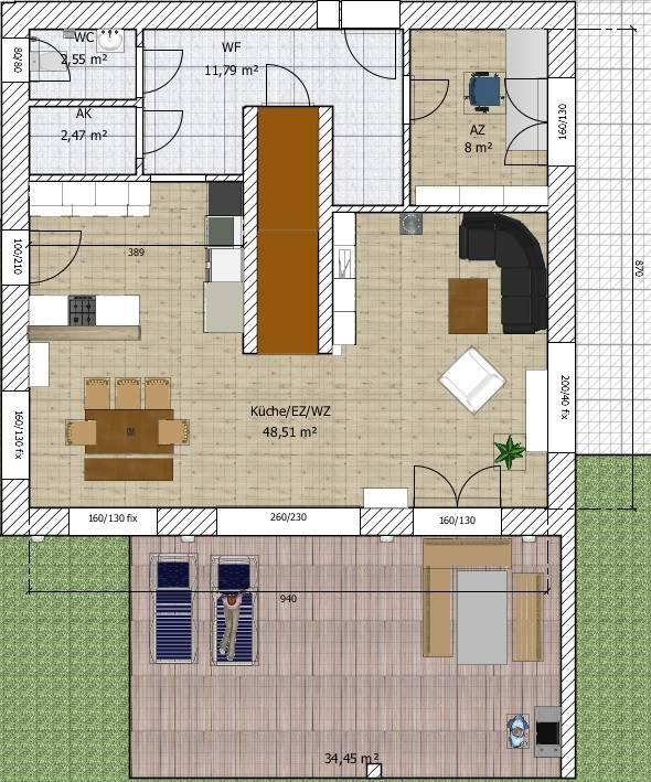 Wohnzimmer Grundriss Ideen 4 ~ Alles über Wohndesign und Möbelideen