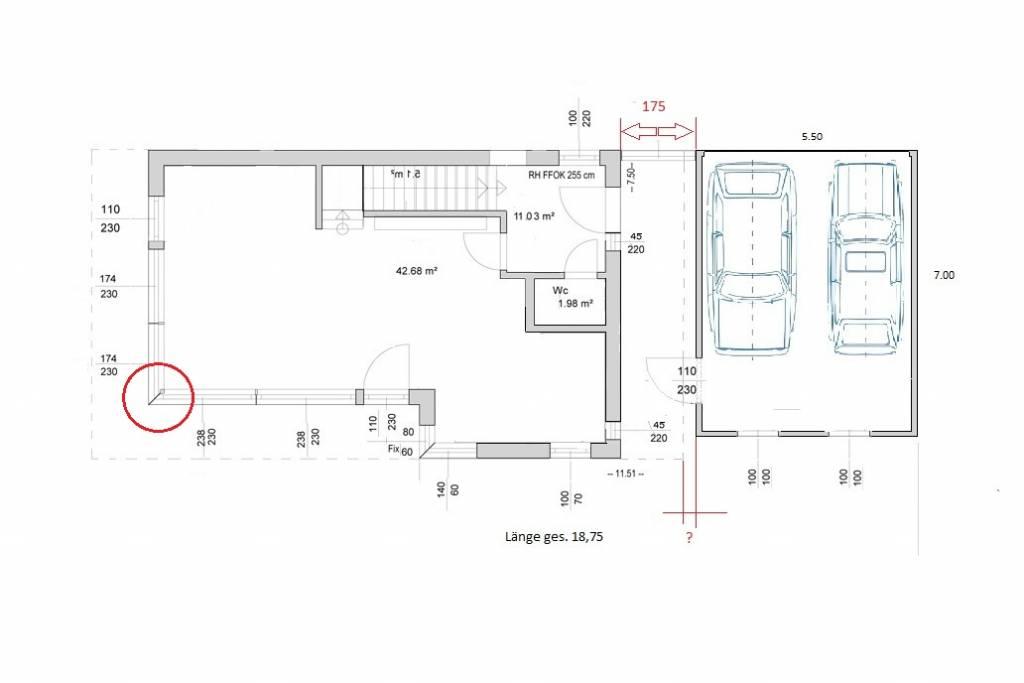 neues haus garage grundrissforum auf. Black Bedroom Furniture Sets. Home Design Ideas