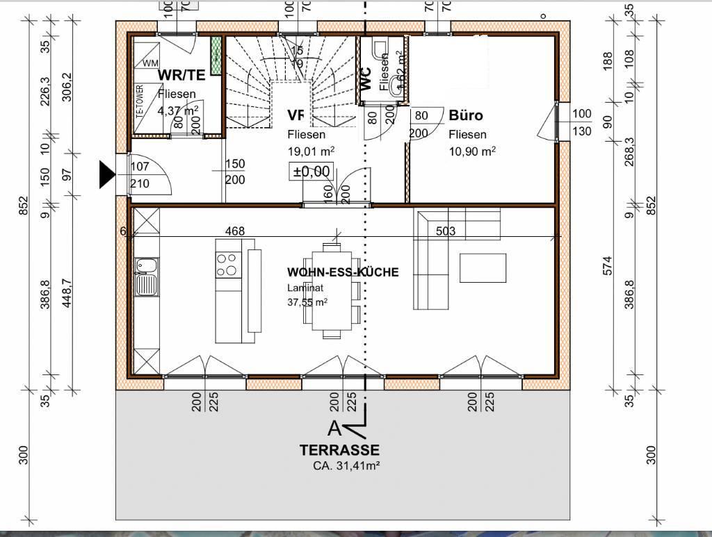 Bitte um meinungen und ideen grundrissforum auf for Haus bauen 120qm