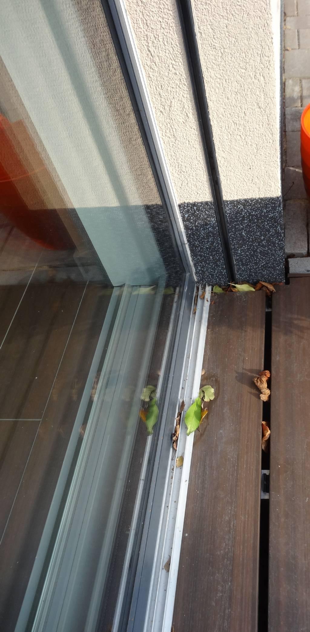 Bodenschwelle Bei Balkontur Fensterforum Auf Energiesparhaus At