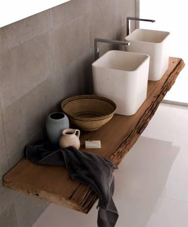 Holzplatte für Badezimmer Waschtisch | Forum auf energiesparhaus.at | {Waschtisch holzplatte 35}