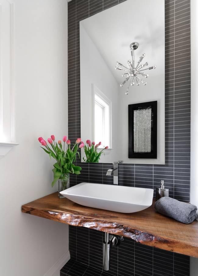 Holzplatte für Badezimmer Waschtisch | Forum auf ...