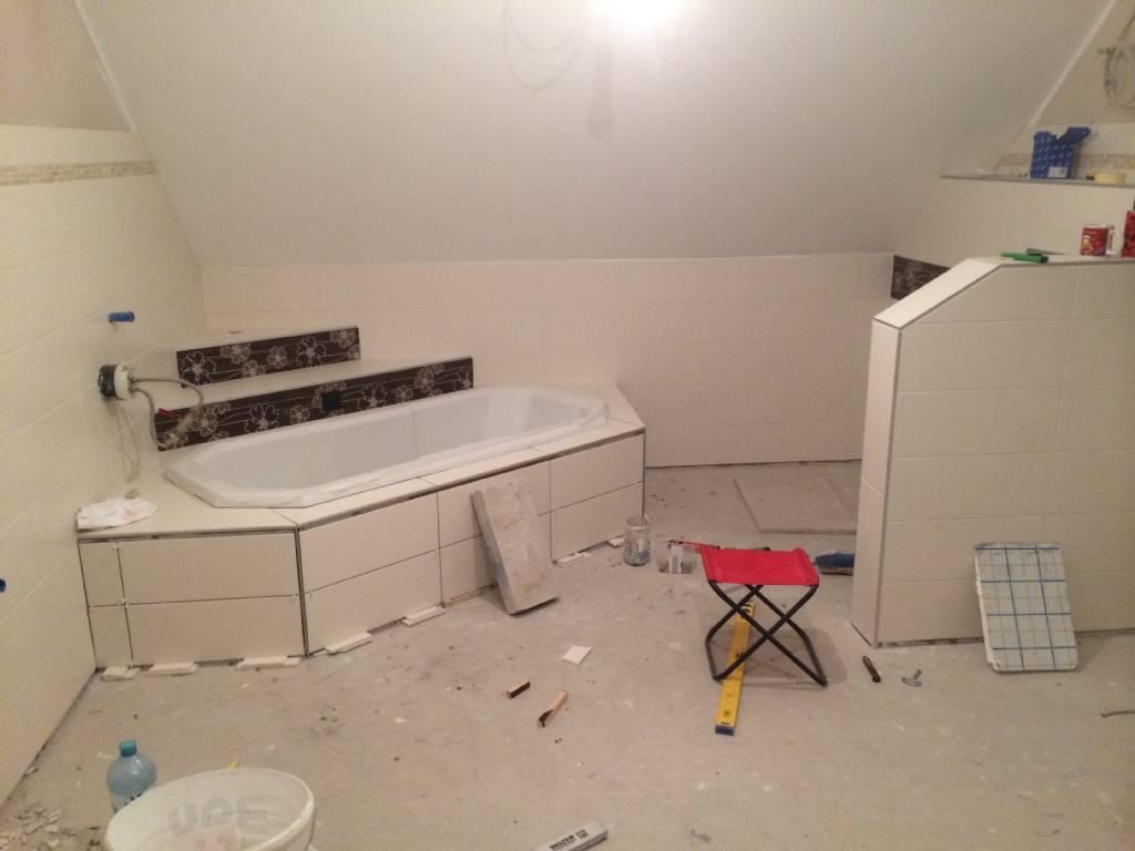 Bevorzugt Fliesen Badewanne - Rundung | Bauforum auf energiesparhaus.at HV35