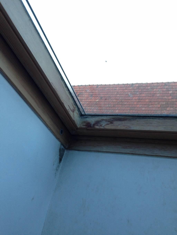 Dachfenster schimmel fensterforum auf - Dachfenster wasser innen ...