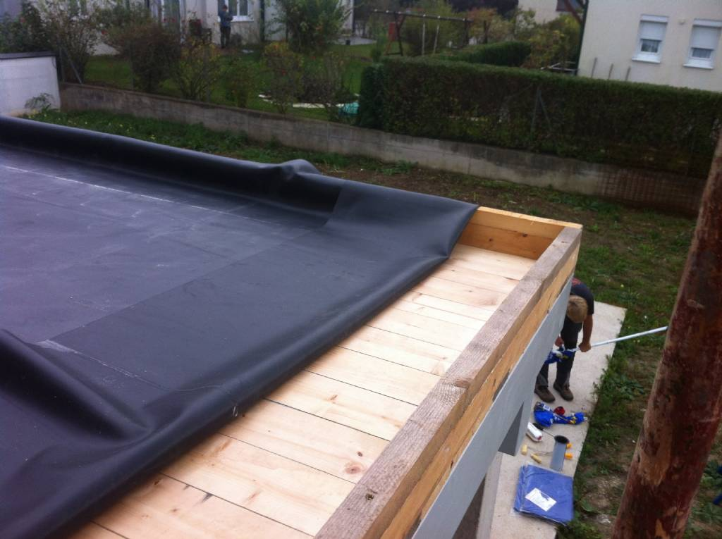 Vorbereitungen Terrassenuberdachung Bauforum Auf Energiesparhaus At