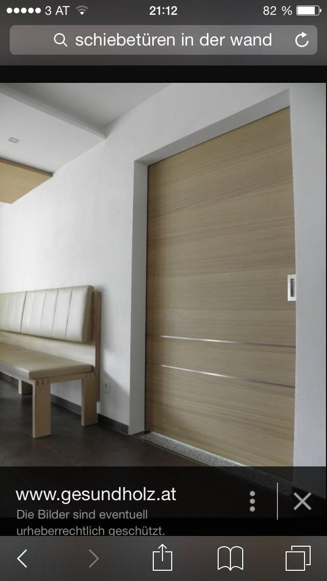 Schiebetüren Wand 1flügelige schiebetür 170 240 cm bauforum auf energiesparhaus at