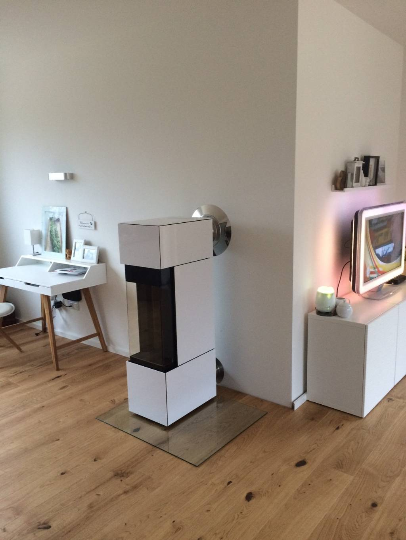edelstahlkamin dw anschluss an rauchrohr energieforum auf. Black Bedroom Furniture Sets. Home Design Ideas