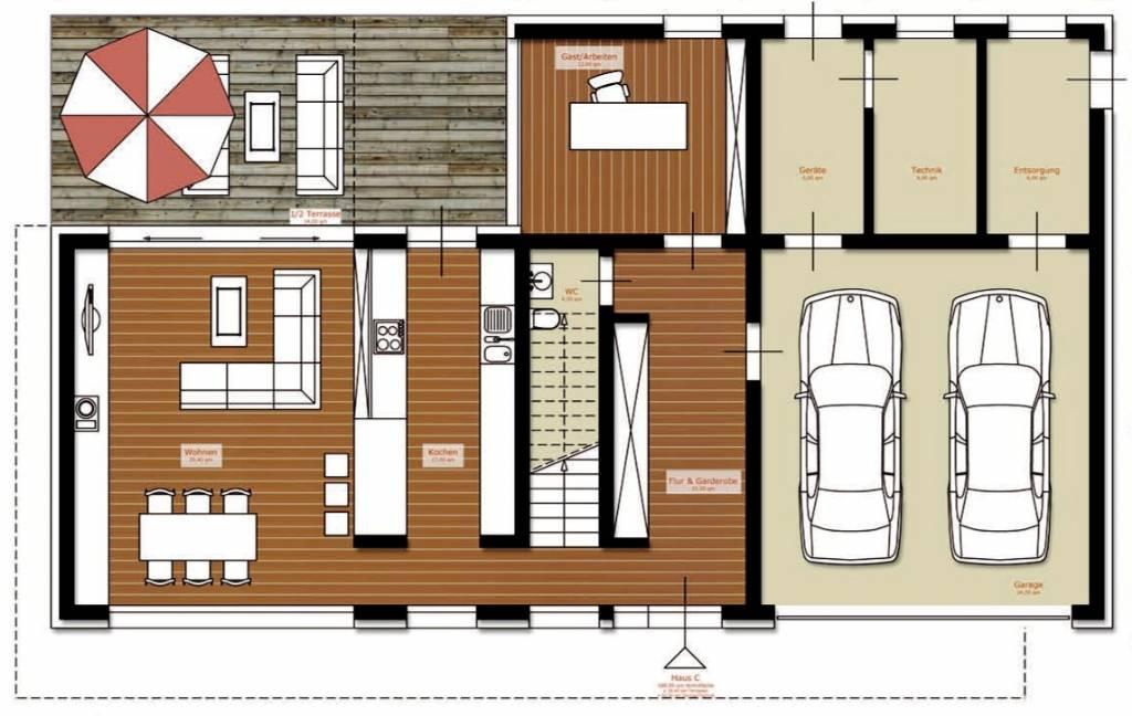 efh 170 m2 verbesserungsvorschl ge bauforum auf. Black Bedroom Furniture Sets. Home Design Ideas