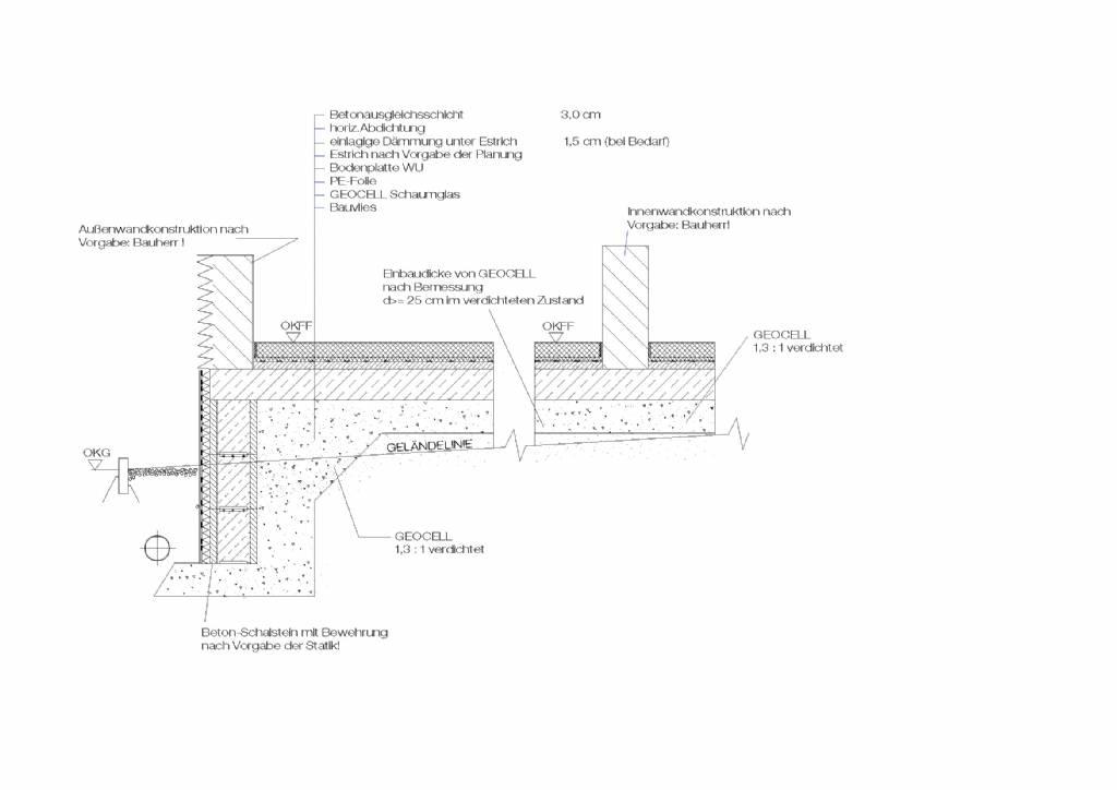 glasschaumschotter unter der bodenplatte bauforum auf. Black Bedroom Furniture Sets. Home Design Ideas