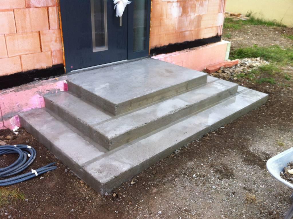 Eingangsstiege Granit Treppenauflagen Forum Auf