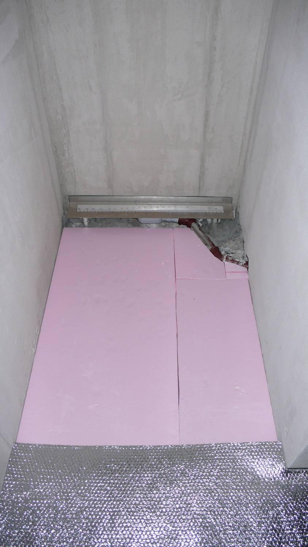 aufbau bodenebene dusche setzen wanne bauforum auf. Black Bedroom Furniture Sets. Home Design Ideas