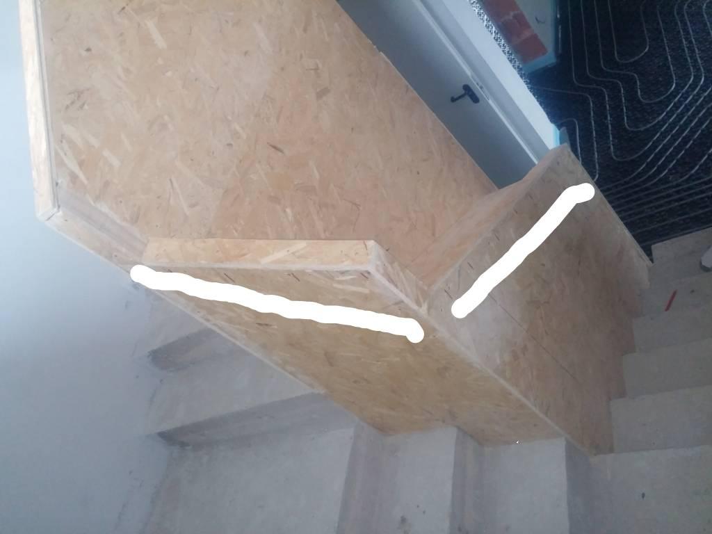 Treppenhandlauf f r bl de hilfe bauforum auf for Treppenauge verkleiden