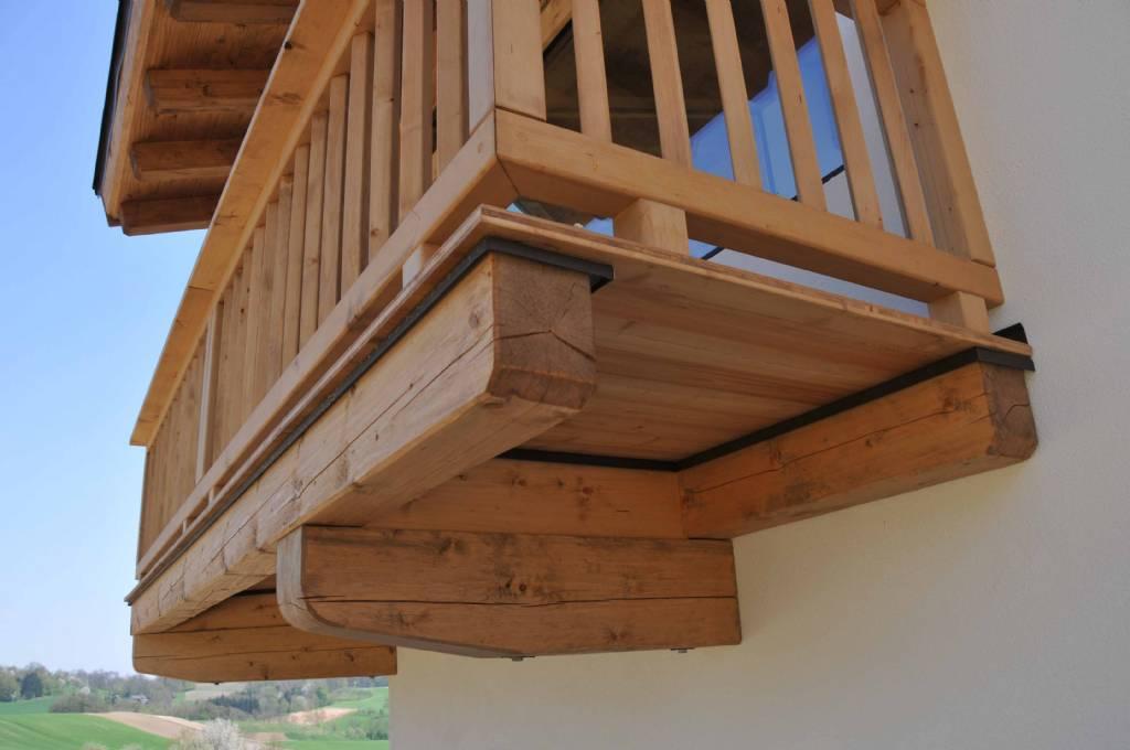 Fensterbank Bei Balkonturen Holzbalkon Bauforum Auf