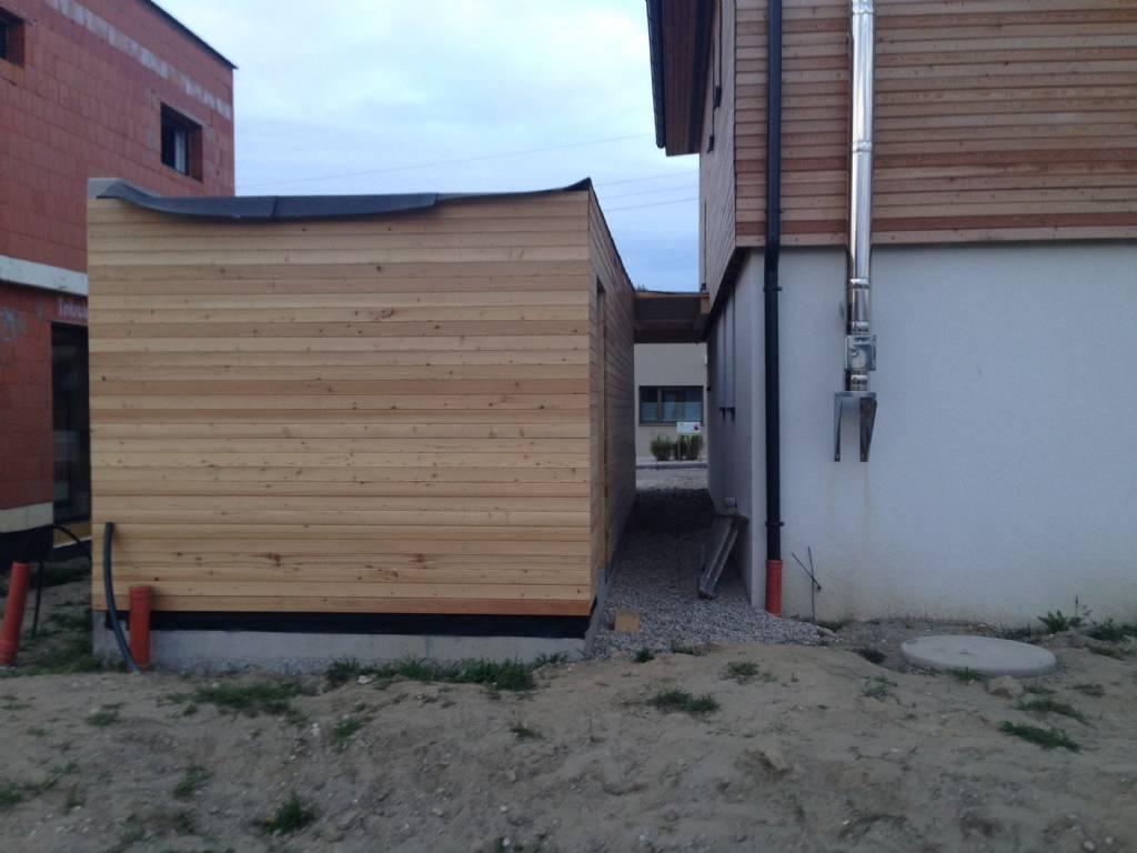 Larchen Rhombusschalung Streichen Bauforum Auf Energiesparhaus At